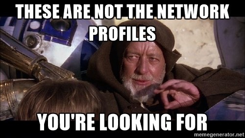 Network Profile Meme